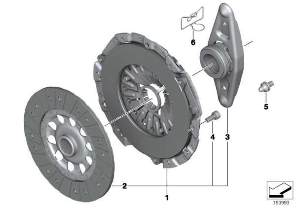 335iS / 550i Kupplung für E8X / E9X